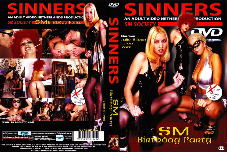 SINNERS SM birthday party